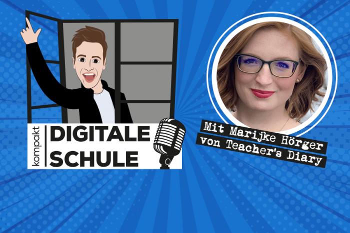 "Frau Hörger im Podcast bei ""Digitale Schule"""